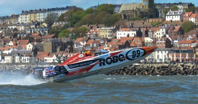 Robe boat sponsorship lights up P1 race series